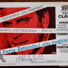 Cine: PARIS - ESTAMBUL , SIN REGRESO.. Lote 222792161