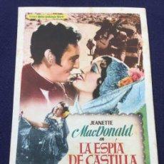 Cine: LA ESPIA DE CASTILLA - FOLLETO DE MANO SENCILLO - REF. FM-167. Lote 222940937