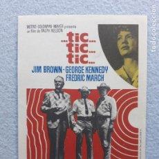 Cine: ...TIC...TIC...TIC... JIM BROWN, GEORGE KENNEDY, FREDRIC MARCH. AÑO 1970.. Lote 223560233