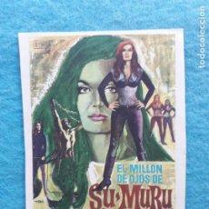 Cine: EL MILLÓN DE OJOS DE SU - MURU. FRANKIE AVALON, GEORGE NADER, SHIRLEY EATON.. Lote 223561156