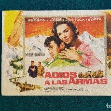 Flyers Publicitaires de films Anciens: PROGRAMA DE MANO CINE AL OESTE DE ZANZIBAR (1959) CON CINE AL DORSO. Lote 223710788
