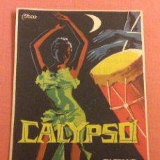 Folhetos de mão de filmes antigos de cinema: FOLLETO DE MANO CALYPSO. PUBLICIDAD EMPRESA LAS ARENAS. Lote 223771813