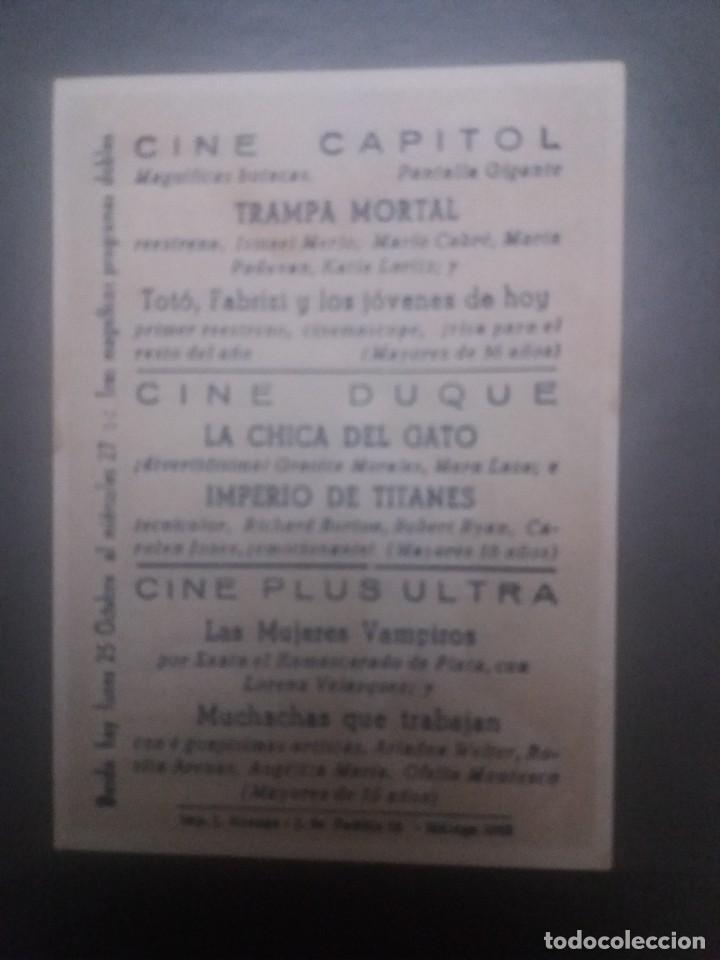 Cine: Trampa mortal con Publicidad Cine Capitol Málaga - Foto 2 - 223868912