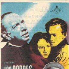 Cine: PN - PROGRAMA DE CINE - LOS POBRES VAN AL CIELO - EVITA MUÑOZ - TEATRO CINE ROYAL (MÁLAGA) - 1951.. Lote 223963710