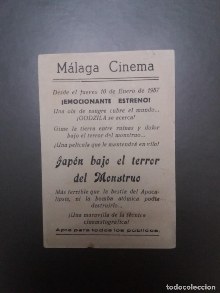 Cine: Japón bajo el terror del monstruo con Publicidad Cine Málaga Cinema - Foto 2 - 223964436