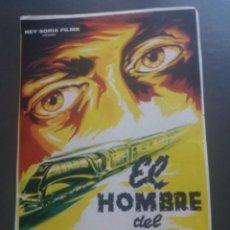 Cine: EL HOMBRE DEL EXPRESO DE ORIENTE SIN PUBLICIDAD. Lote 224081457