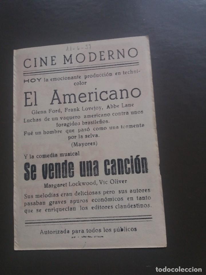 Cine: Se vende una canción con Publicidad Cine Moderno Málaga - Foto 2 - 224083336