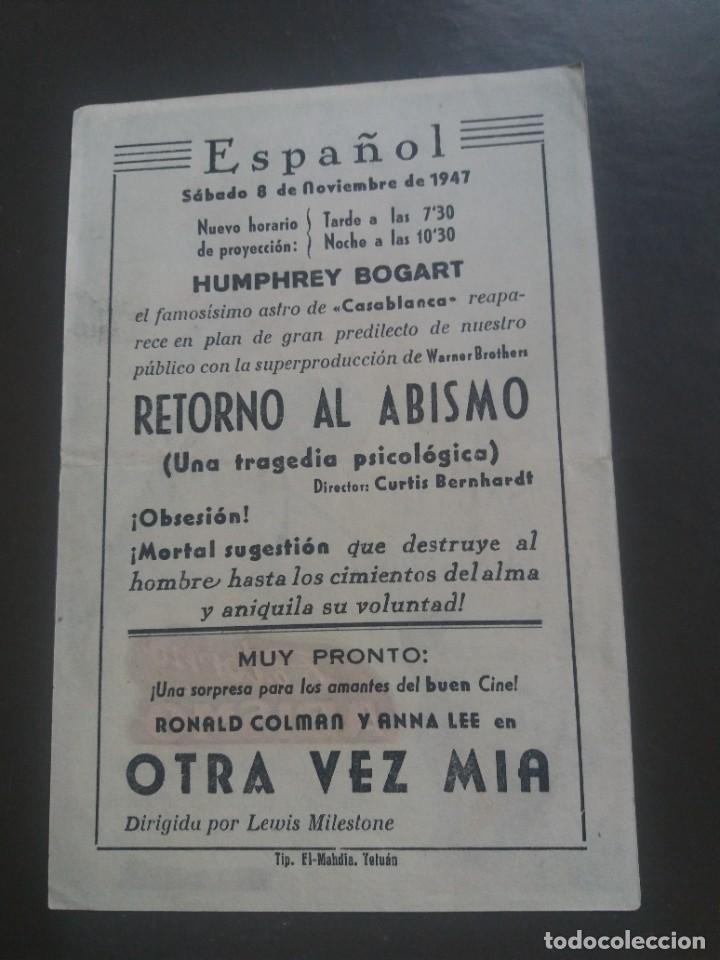Cine: Retorno al abismo con Publicidad Cine Español Tetuán - Foto 2 - 224337081