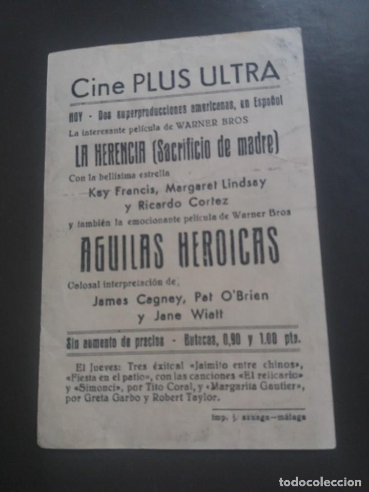Cine: Aguilas heroicas con Publicidad Cine Plus Ultra Málaga - Foto 2 - 224341038