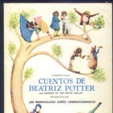 Cine: P-8983- CUENTOS DE BEATRIZ POTTER (THE TALES OF BEATRIX POTTER). Lote 224564151