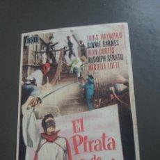 Cine: EL PIRATA DE CAPRI CON PUBLICIDAD CINE ESPAÑA PUENTE GENIL. Lote 224597041