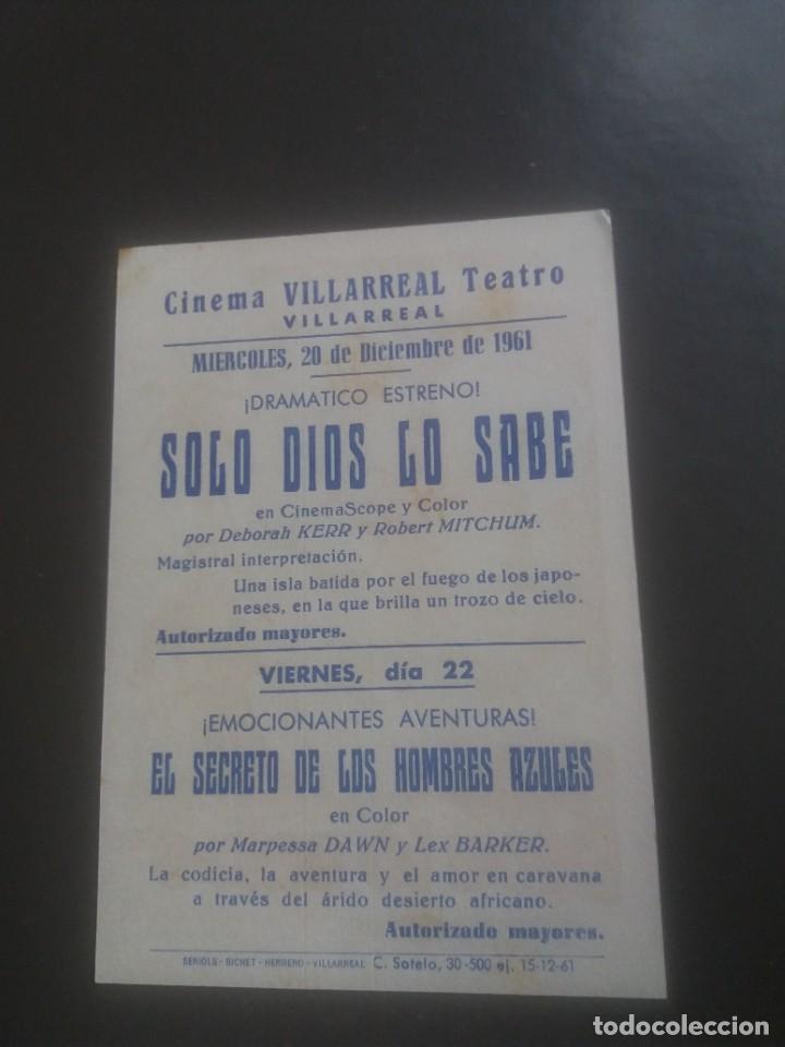 Cine: Sólo Dios lo sabe con Publicidad Teatro Cinema Villarreal - Foto 2 - 224601656