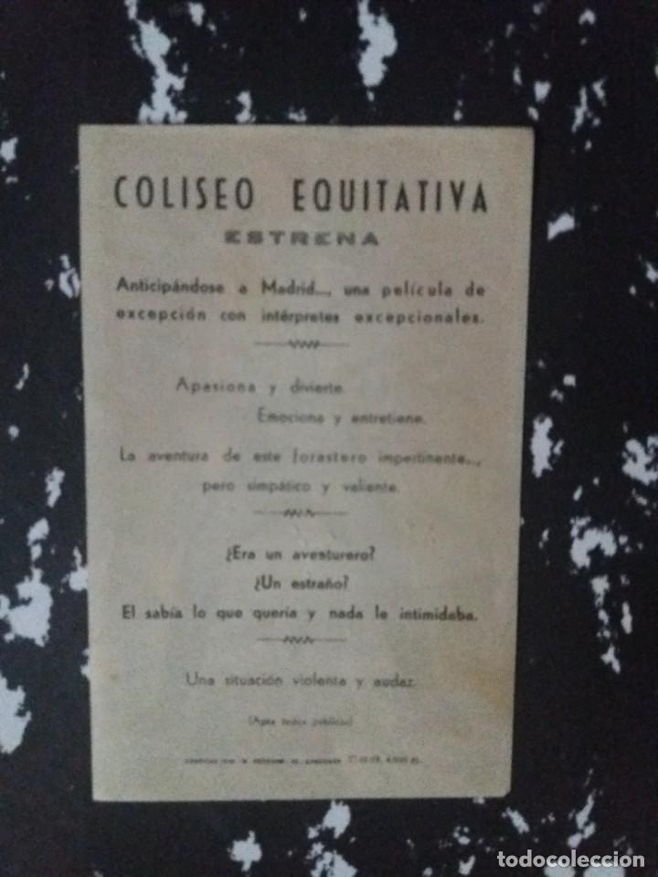 Cine: Furia en el valle con Publicidad Cine Coliseo Equitativa Zaragoza - Foto 2 - 225056660