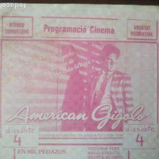 Cine: CINEMA ATENEU TORRELLENC DE TORRELLES DE LLOBREGAT I SOCIETAT RECREATIVA DE SANTA COLOMA DE CERVELLO. Lote 225151925
