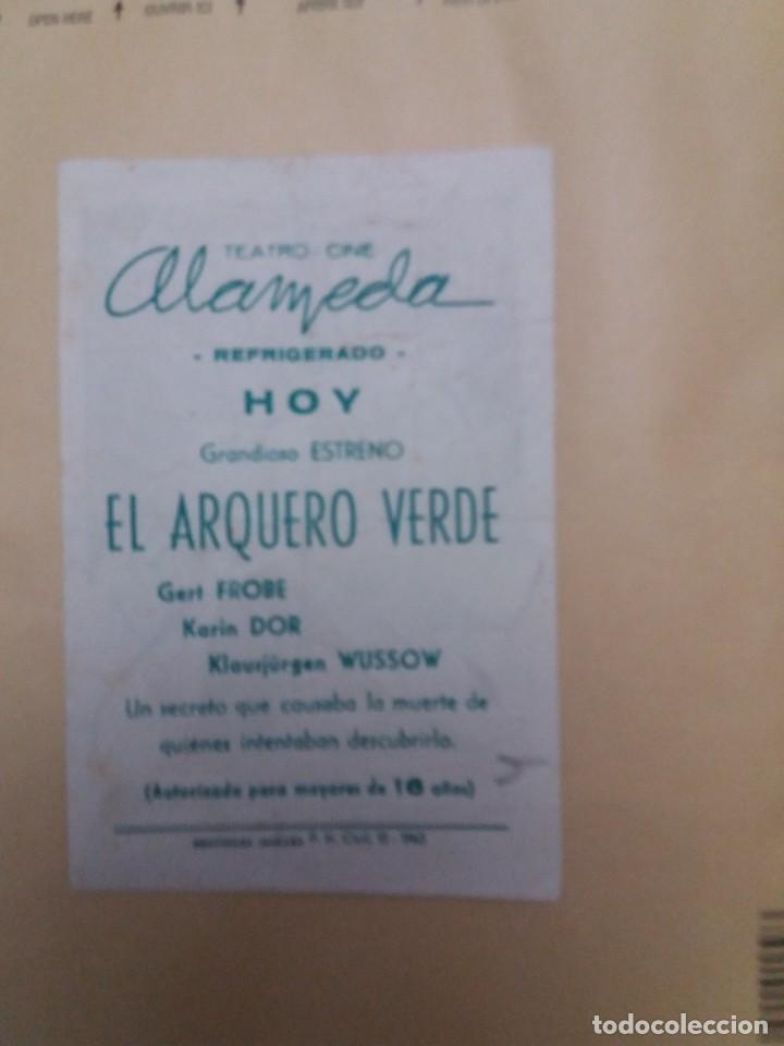 Cine: El arquero verde con Publicidad Cine Alameda Málaga - Foto 2 - 225190205
