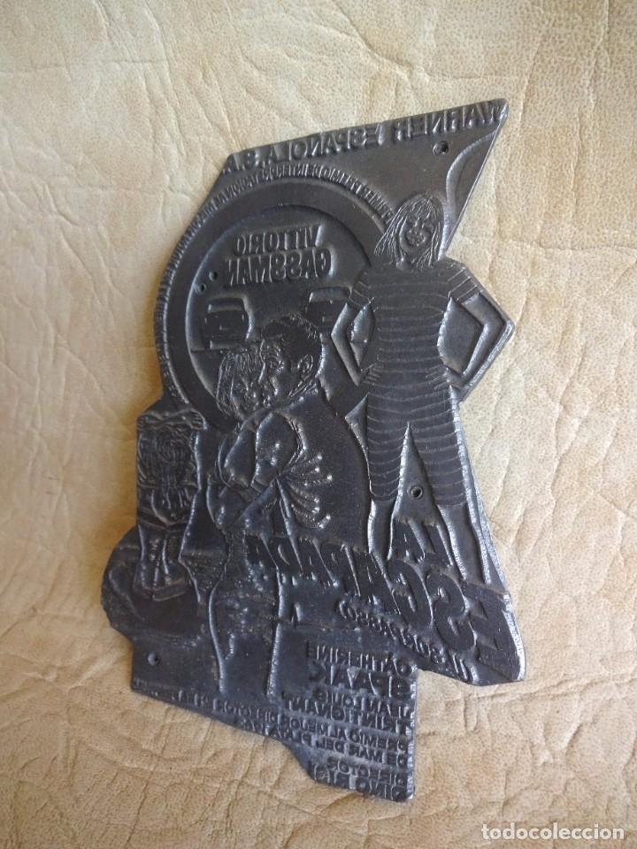 Cine: antiguo troquel negativo metalico de pelicula la escapada il sorpasso vittorio gassman - Foto 3 - 225343088