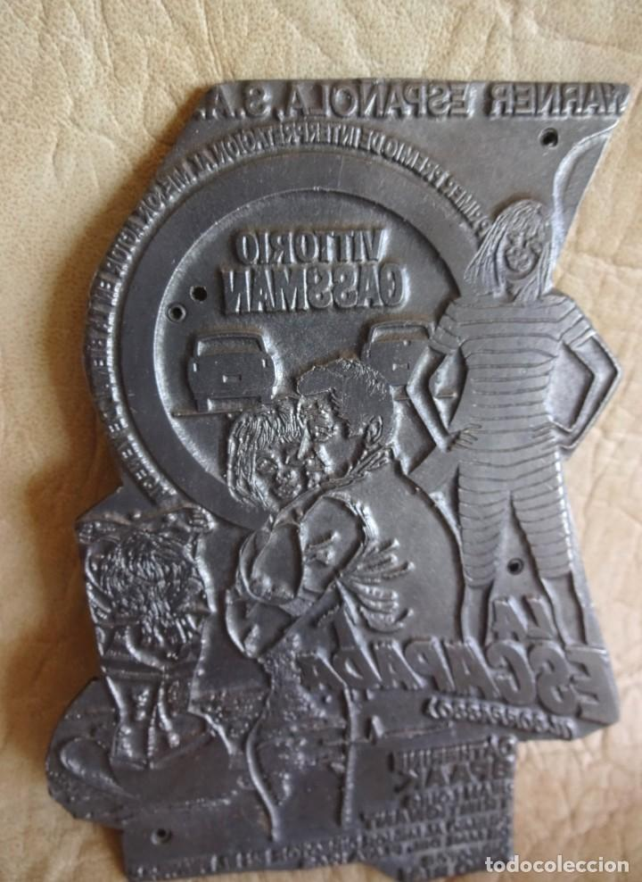Cine: antiguo troquel negativo metalico de pelicula la escapada il sorpasso vittorio gassman - Foto 4 - 225343088