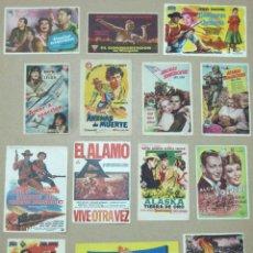 Cine: VJ59D JOHN WAYNE COLECCION DE 49 PROGRAMAS ORIGINALES ESPAÑOLES. Lote 225405460