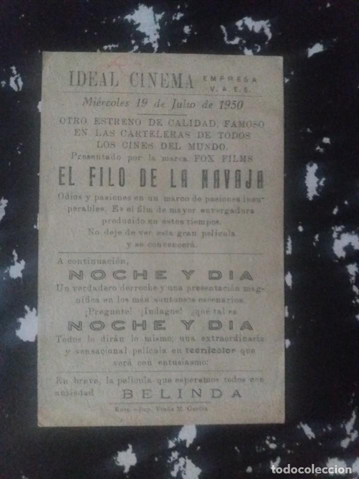 Cine: El filo de la navaja Con Publicidad Ideal Cinema Rute - Foto 2 - 225577801
