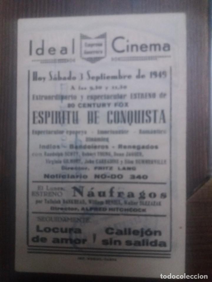 Cine: Espiritu de conquista Con Publicidad Ideal Cinema Cabra - Foto 2 - 225578870