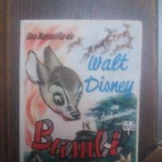 Cine: BAMBI CON PUBLICIDAD PALACIO DEL CINE CÓRDOBA. Lote 225589203