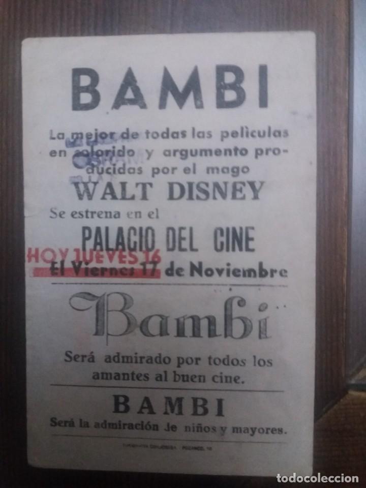 Cine: Bambi Con Publicidad Palacio del Cine Córdoba - Foto 2 - 225589203