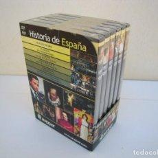 Cine: 6 DVD HISTORIA DE ESPAÑA A ESTRENAR. Lote 225747696
