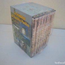 Cine: 8 DVD LA GRANDEZA DE NUESTROS PUEBLOS. Lote 225748505