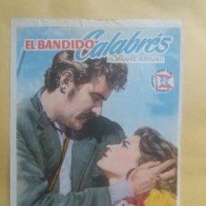Cine: EL BANDIDO CALABRES CON PUBLICIDAD CINE CAMPOS ELÍSEOS GIJÓN. Lote 225789480