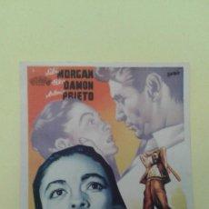 Cine: DUELO DE PASIONES SILVIA MORGAN S.P. FOLLETO ORIGINAL. Lote 225797308