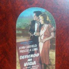 Cine: DEFIENDO MI VIDA TROQ SIN PUBLICIDAD. Lote 226058160