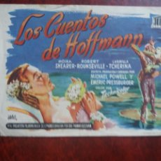 Cine: LOS CUENTOS DE HOFFMANN CON PUBLICIDAD TEATRO CÓMICO LA LÍNEA. Lote 226061175