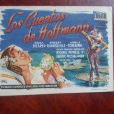 Cine: LOS CUENTOS DE HOFFMANN SIN PUBLICIDAD. Lote 226061655