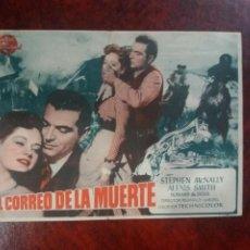 Cine: EL CORREO DE LA MUERTE SIN PUBLICIDAD. Lote 226068768