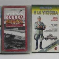 Cine: VIDEOS VHS DE TEMATICA MILITAR. Lote 226108425