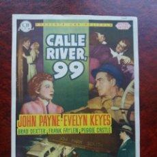 Cine: CALLE RIVER 99 CON PUBLICIDAD CINE ESPRONCEDA ALMENDRALEJO. Lote 226572035