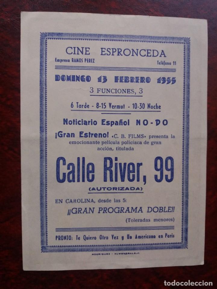Cine: Calle River 99 Con Publicidad Cine Espronceda Almendralejo - Foto 2 - 226572035