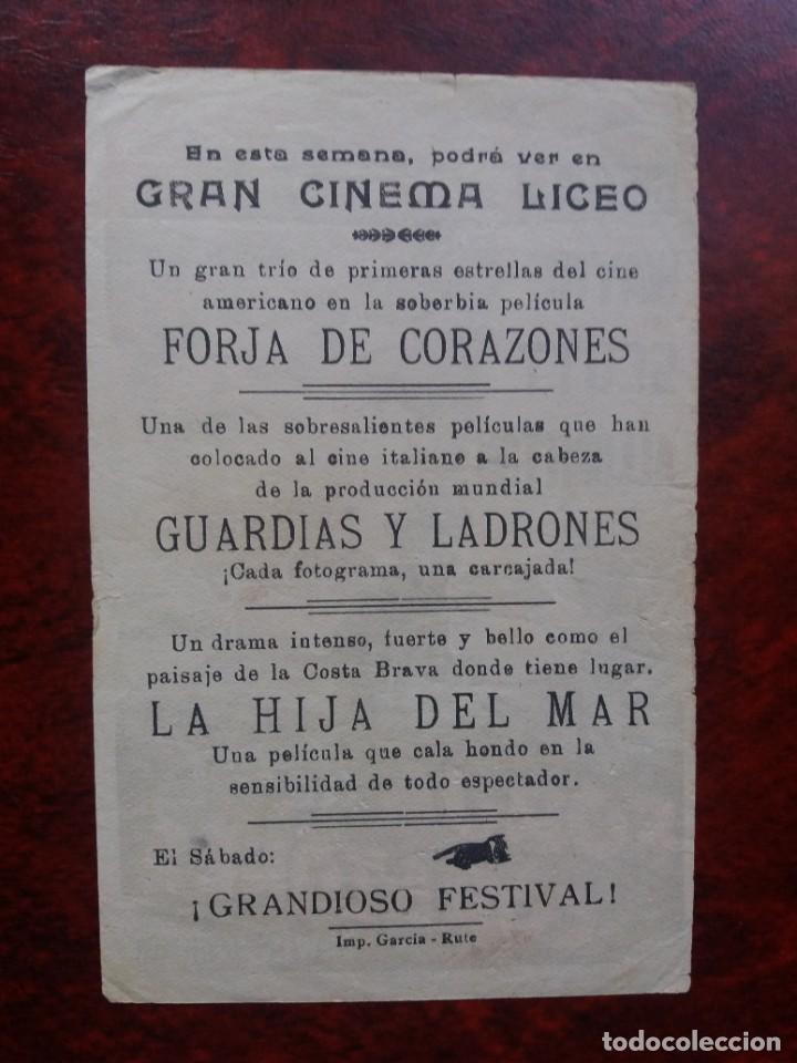 Cine: Forja de corazones Con Publicidad Gran Cinema Liceo Rute - Foto 2 - 226574615