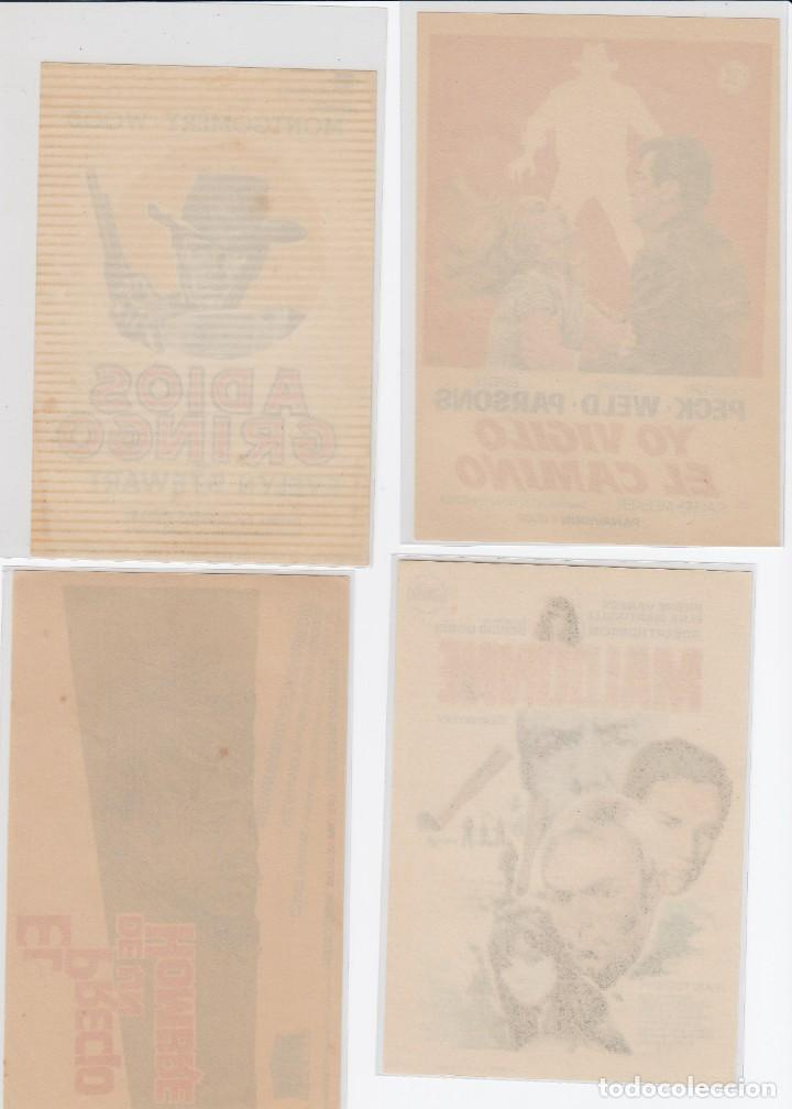 Cine: lote de 4 programas de cine del genero westerns. s/c - Foto 2 - 226893815
