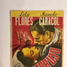 Cine: EL GRAO VALENCIA. CINES MARFIL Y LEVANTE, FOLLETO DE MANO, EMBRUJO, LOLA FLORES MANOLO CARACOL. Lote 227083399