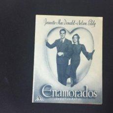 Cine: ENAMORADOS - PROGRAMA DOBLE - REVERSO COLISEO OLYMPIA. Lote 227593744