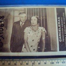 Cine: (PG-190698)PROGRAMA TARJETA *CARCELERAS* RAQUEL RODRIGO JOSE LUIS LLORENT-CINE MANON. Lote 227665745