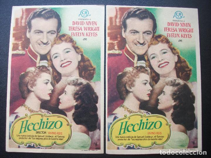HECHIZO, DAVID NIVEN, VARIANTE (Cine - Folletos de Mano - Drama)