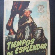 Cine: TIEMPOS DE ESPLENDOR, CHARLOT. Lote 227939450