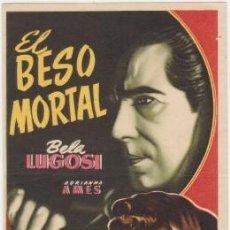 Cine: EL BESO MORTAL. Lote 228055298