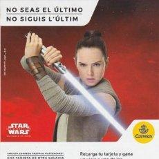 Cine: STAR WARS: LOS ÚLTIMOS JEDI. Lote 228058645