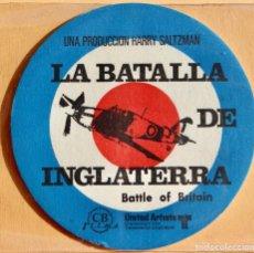Cine: TROQUELADO - LA BATALLA DE INGLATERRA- BATTLE OF BRITAIN - 1969. Lote 228134905