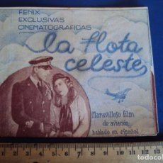 Cine: (PG-190747)LA FLOTA CELESTE ,1936 , DOBLE. Lote 228319165