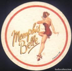 Cine: P-9048- MEMPHIS BELLE (TROQUELADO - POSAVASOS) MATTHEW MODINE - ERIC STOLTZ - TATE DONOVAN. Lote 228322055