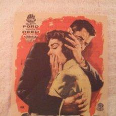 Cine: RAPTO GLEN FORD - SECILLO CON PUBLICIDAD CINE CASABLANCA ORIHUELA - PERFECTO. Lote 228341605